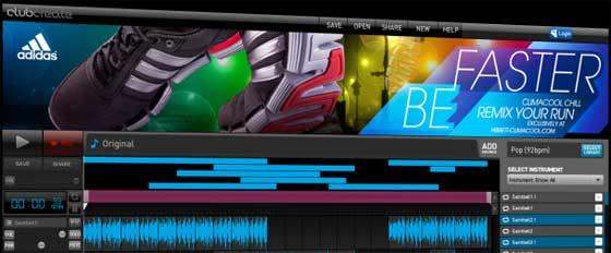 beat maker online adidas