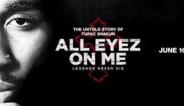 """Após Mais de 6 Anos de Produção, Cine Biografia de Tupac Shakur, """"All Eyez on Me"""" Foi Lançada."""