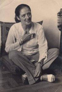 Tereza Aragão - foto gentilmente cedida por sua neta Iris Ferreira Torres.