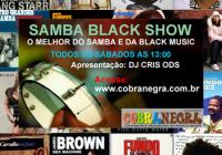 Samba Black Show disponível no Soundcloud