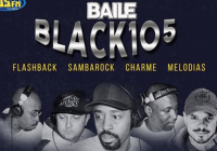 Baile do Black 105 na VIC Club