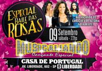 Dia 09 de Setembro Tem Baile das Rosas na Casa de Portugal