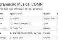 Confira A Nova Programação Da Rádio CBMN