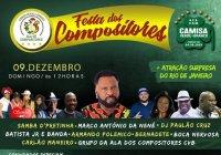 Dia 09 De Dezembro Tem Festa Dos Compositores Na Camisa Verde E Branco