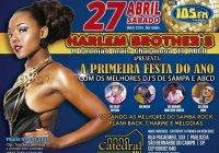 Dia 27 De Abril Tem Baile Da Harlem Brothers No Catedral Hall Em São Bernardo Do Campo