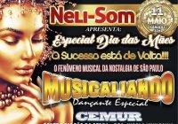 Dia 11 De Maio Tem Neli Som E Musicaliando No CEMUR