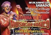 Dia 08 De Junho Tem Sandra De Sá No Baile Dos Namorados Da Musicaliando Na Casa De Portugal