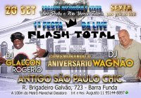 Dia 20 De Setembro Tem Festa Do Programa Flash Total Do DJ Wagnão