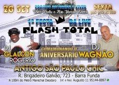 Dia 20 De Setembro Tem Festa Do Programa Flash Total Do DJ Wagnão
